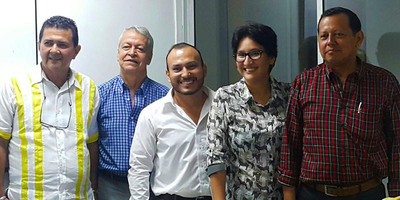 Nuevos socios del Círculo de Periodistas del Huila