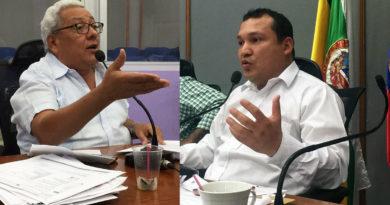 Concejales Garzón y Martínez, denunciaron graves fallas en la concesión del alumbrado público de Neiva.