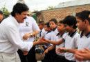 Gobernador entregó cerca de 5.000 tablets en cinco municipios del centro del Huila.