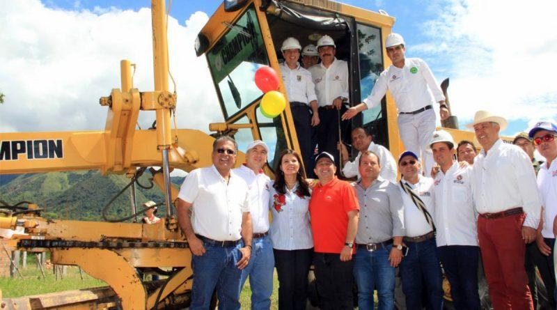 Inicia pavimentación La Plata – Belén