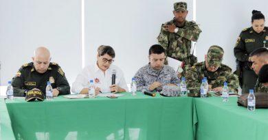En Pitalito, se cumplió el primer Consejo de Seguridad Regional.