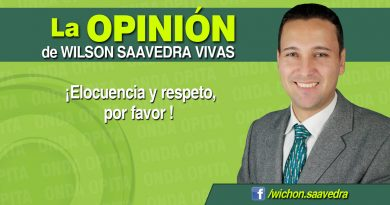 Opinión | ¡Elocuencia y respeto, por favor!