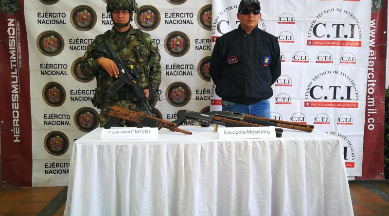 Encontraron depósito ilegal de guerra en Tello, Huila