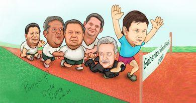 CARICATURA | Carlos Ramiro puntea, Héctor Javier acelera.