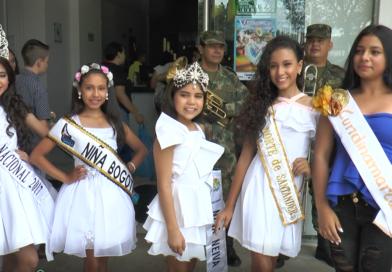 Arrancó el Reinado Nacional Infantil del Sanjuanero Huilense