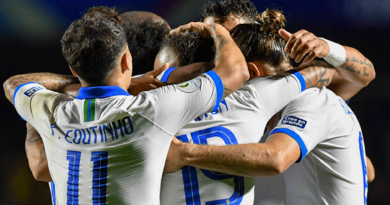 Brasil debutó con goleada frente a Bolivia