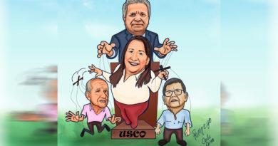 Caricatura | Nidia la ventrílocua