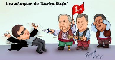 Caricatura | Los ataques de 'Barba Roja'
