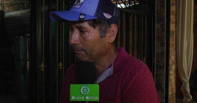 Por videos grabados con su celular, campesino dice que su vida corre peligro