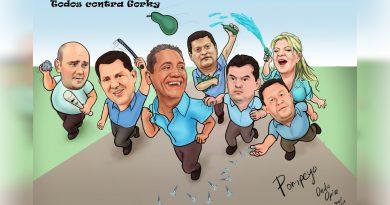 Caricatura | Todos contra Gorky