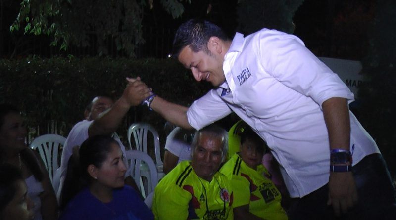 """Con paso firme"", la comuna dos le dice sí, a Luis Eduardo Paipa"