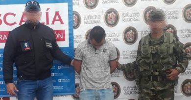 """Cayó presunto integrante de """"Los Yayas"""", por hurto y porte de armas"""