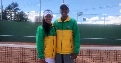 Huilenses obtienen medalla de oro en tenis de campo en Juegos Supérate