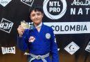 Andrés Quimbayo, campeón del torneo Abu Dhabi National Pro de Jiu Jitsu
