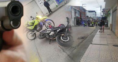 Balacera entre policías y ladrones en Pitalito