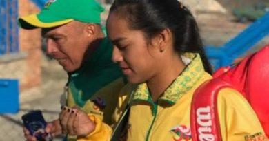 Tenista opita saca la casta en el Mundial Juvenil de Cuenca
