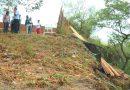 Muro de una escuela en Neiva, colapsó