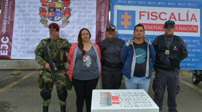 Allanamientos en Pitalito dejó dos capturados, incautación de marihuana y dinero