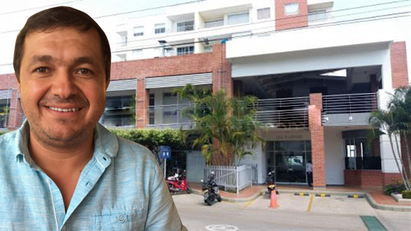 René Cantillo habría herido a celador de condominio en Neiva