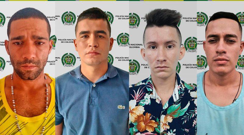 Cayeron 'Los Gatos', encargados de cometer hurtos a personas y comercio en Neiva