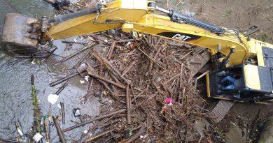 Maquinaria llegó a Pitalito para atender estragos que han dejado las lluvias