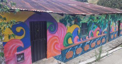 Pinceladas para la paz y el turismo en zona rural de Neiva