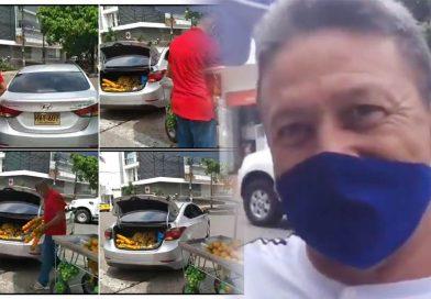 Vendedor ambulante desplazado del Huila perdió su carreta injustamente en Barrancabermeja