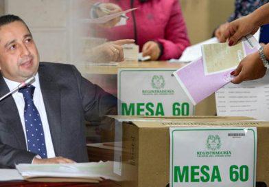 Congresista huilense lidera el proyecto de Código Electoral