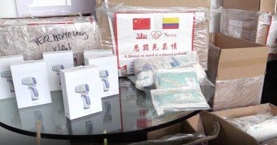 ESE de Neiva y médicos residentes reciben kits de protección donados por China