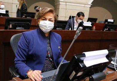 """""""Hay que rescatar a las mujeres de la informalidad"""": senadora Esperanza Andrade"""