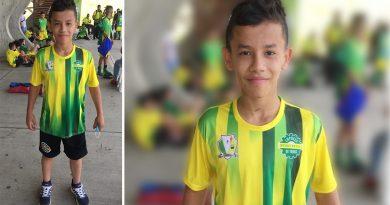 Futbolista huilense triunfa en el centro de Colombia