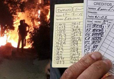 Incendian casa de mujer en Nariño al parecer por no pagar préstamo 'gota a gota'