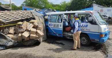 Volcamiento de un camión dejó 6 heridos en Neiva