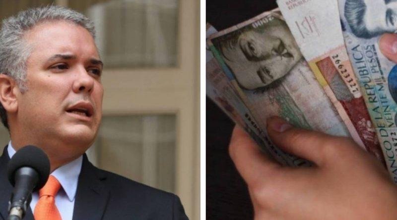 Duque se tomará el resto de año para reajustar el salario mínimo para 2021