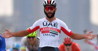 Fernando Gaviria noveno en UAE Tour