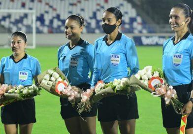 Huila empato 0 – 0 ante Barranquilla FC, Las figuras  en la cancha fueron las 4 mujeres