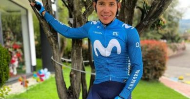 Supermán  López ahora hace parte del Movistar Team