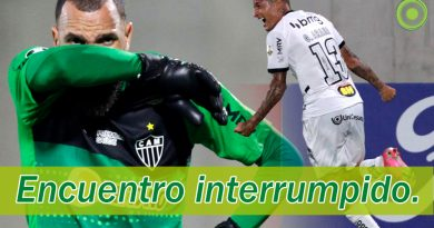 En medio de protestas Atlético Mineiro vence al América de Cali.