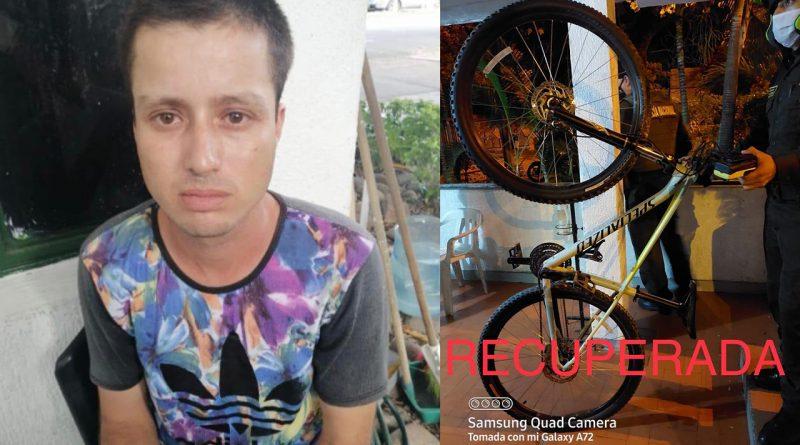 Capturan a ladrón de bicicletas en el norte de Neiva