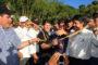 Gobernador del Huila inaugura e inspecciona obras en el centro del departamento.