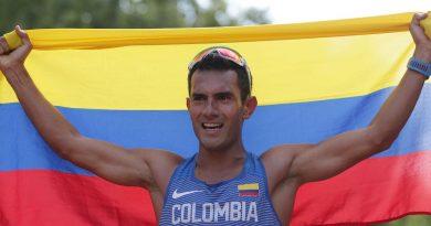 Colombiano ganó la copa panamericana de marcha en Ecuador.